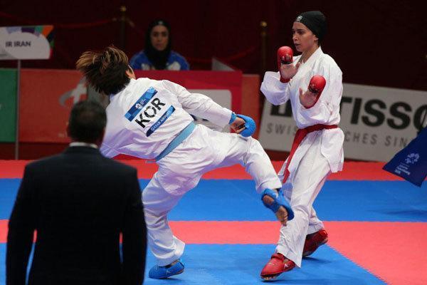 نایب رییس کاراته: عملکرد بانوان ما مناسب بوده است