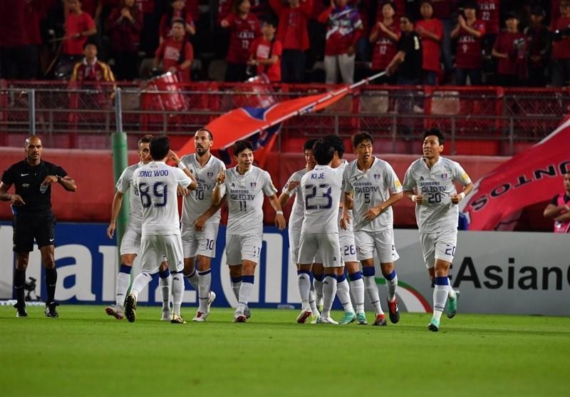 لیگ قهرمانان آسیا، پیروزی خانگی کاشیما آنتلرز ژاپن برابر حریف کر ه ای