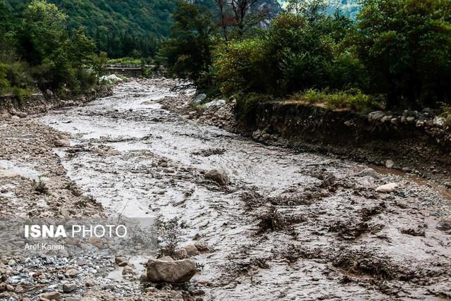 احتمال جاری شدن سیل در مناطق کوهپایه ای