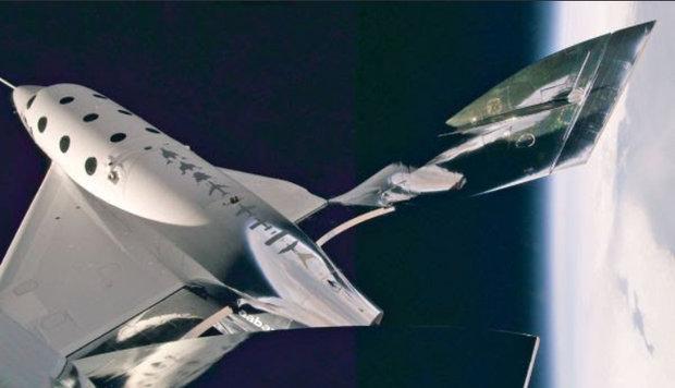 هواپیمای فضایی ویرجین گالاکتیک امروز به آسمان می رود