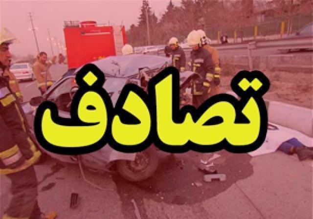 واژگونی سمند در جاده قیروکارزین، مصدومیت 6 نفر