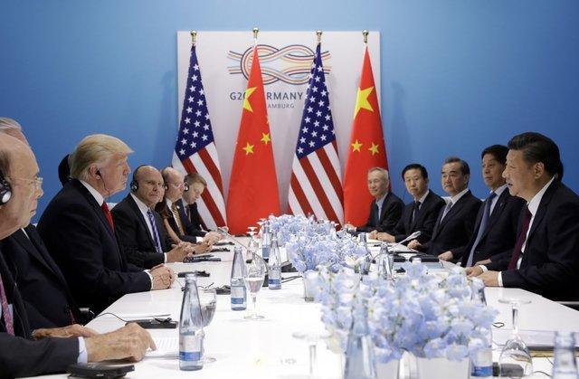 ترامپ: چین بر دکمه جنگ تعرفه ای ضربه زده است
