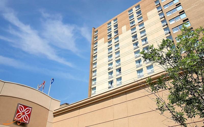 معرفی هتل 3 ستاره هیلتون ساسکاتون کانادا