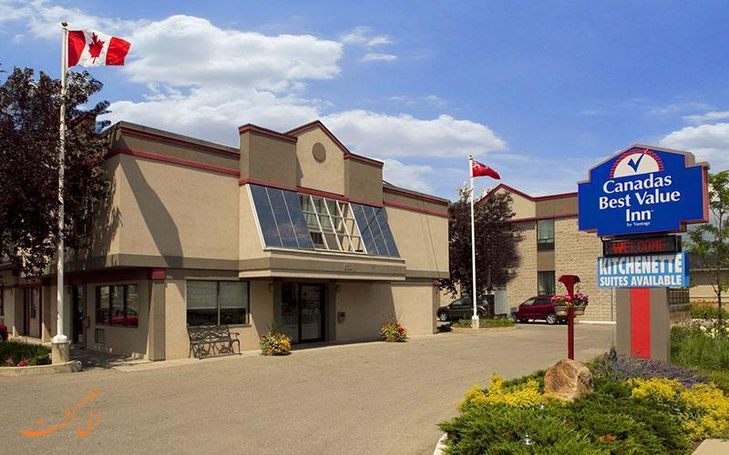 معرفی هتل 2 ستاره کاناداز بست ولیو این تورنتو کانادا