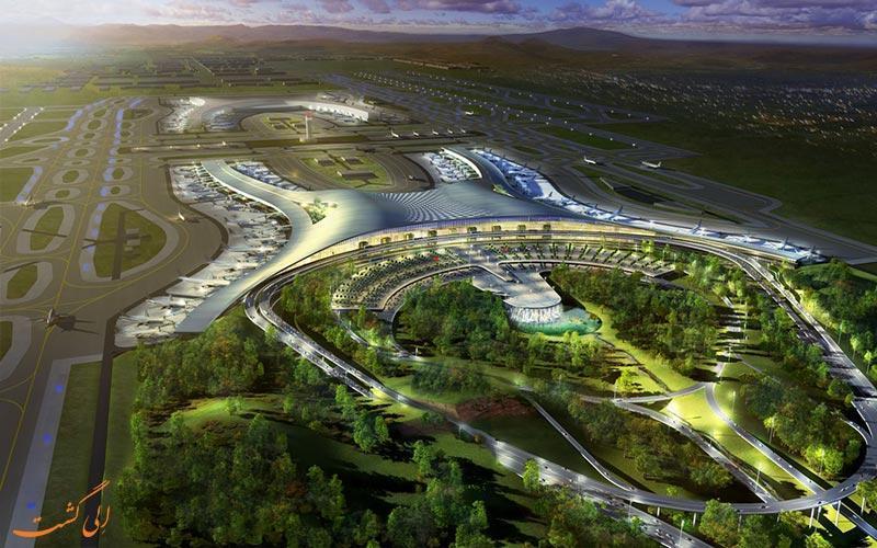 معرفی فرودگاه بین المللی چونگ کینگ ییانگبی چین