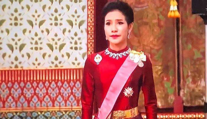ازدواج دوم پادشاه تایلند در حضور همسر اولش! ، تصاویر
