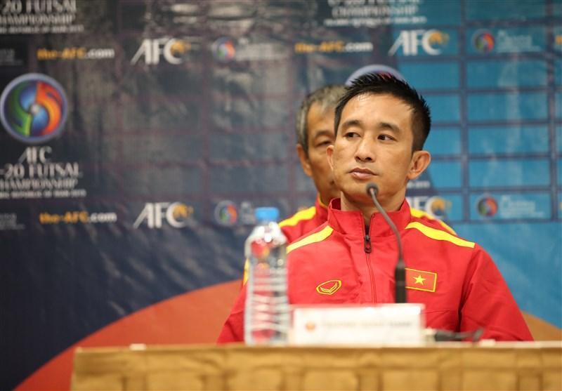 فوتسال قهرمانی زیر 20 سال آسیا، سرمربی ویتنام: در هر بازی پیشرفت بازیکنانم را می بینم