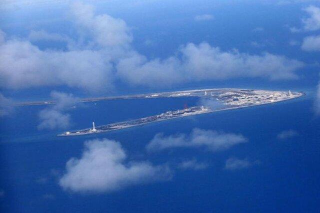 حضور ناو هواپیمابر رونالد ریگان آمریکا در دریای چین جنوبی