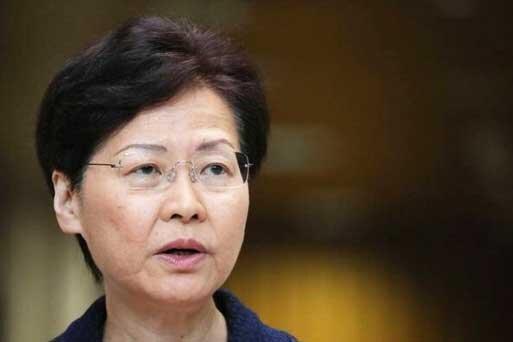 حکومت نظامی دوفاکتو در هنگ کنگ؛ انتقاد کری لام از مداخلات خارجی
