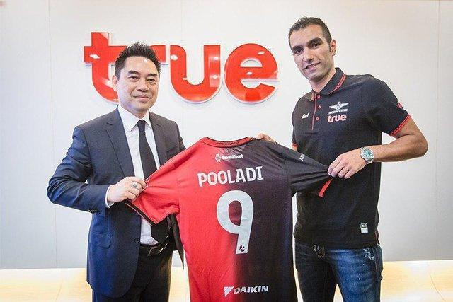 پولادی به بانکوک تایلند پیوست