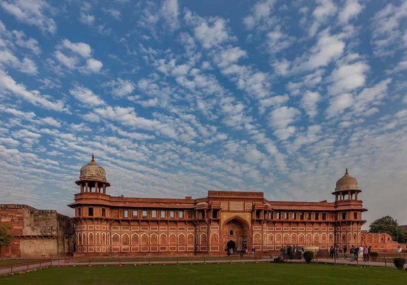 قلعه آگرا، شاهکار دیدنی دیگری از هند