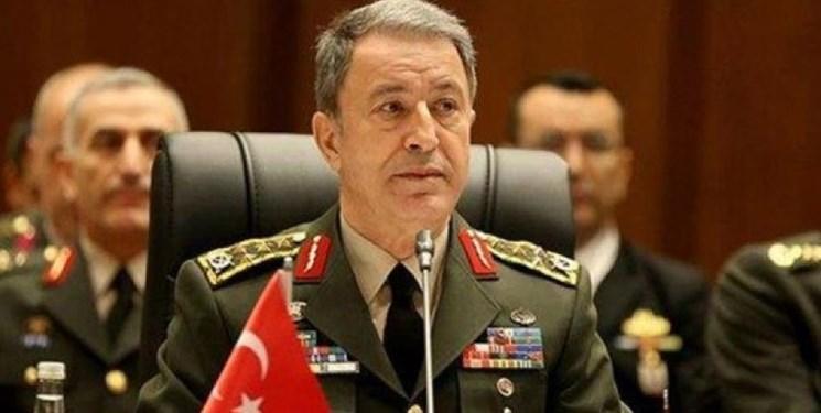 ترکیه: به پاکسازی شمال سوریه از تروریست ها ادامه می دهیم