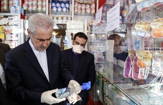 مسئله ای از بابت تامین مواد بهداشتی و ضدعفونی در آذربایجان شرقی نداریم