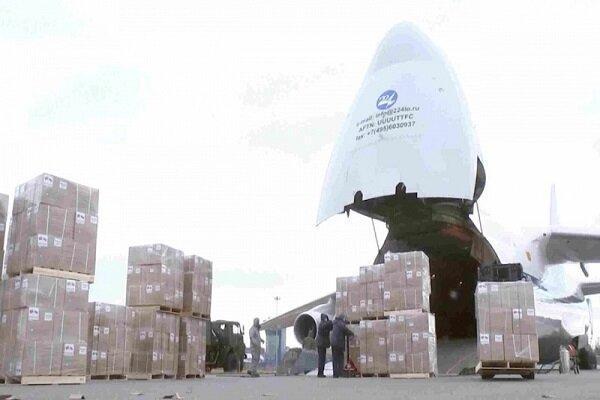 هواپیمای حامل کمکهای پزشکی ایران به ونزوئلا رسید