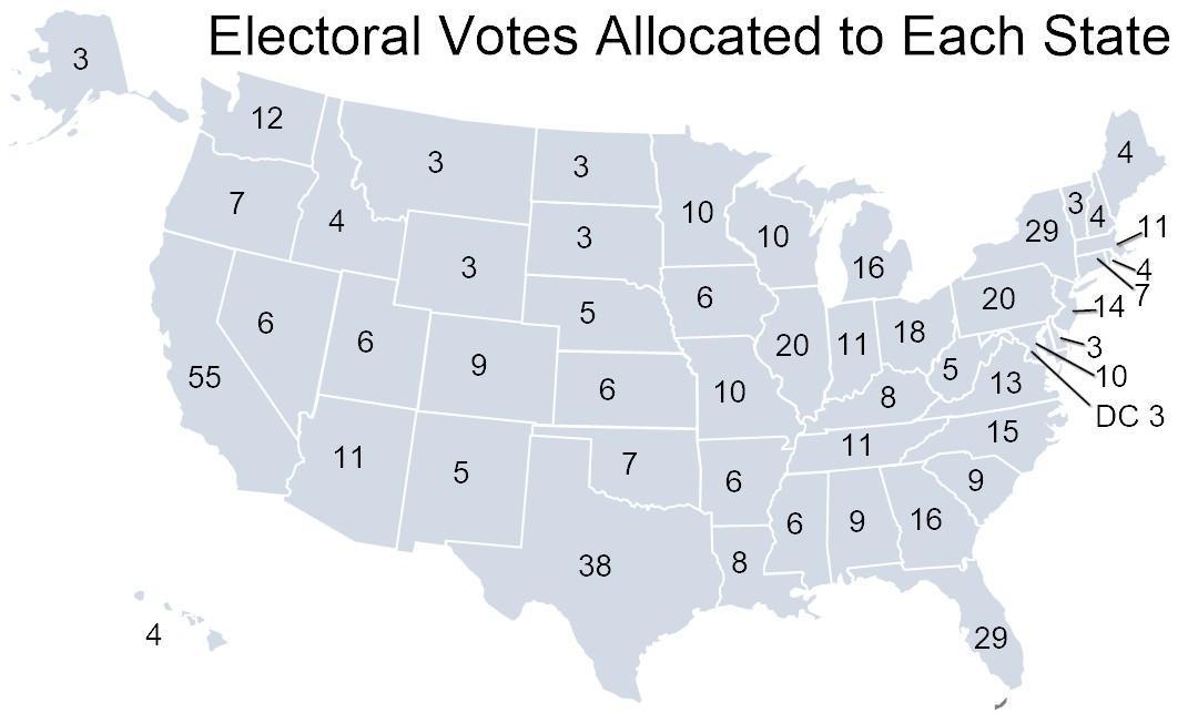 سازوکار انتخابات آمریکا؛ از رای مردم تا رای الکترال چرا شانس بایدن برای پیروزی در انتخابات بیشتر از ترامپ است؟