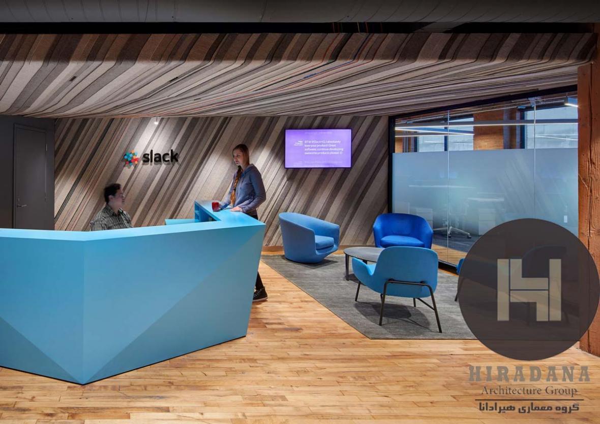 بازسازی و طراحی داخلی اداری اسلک