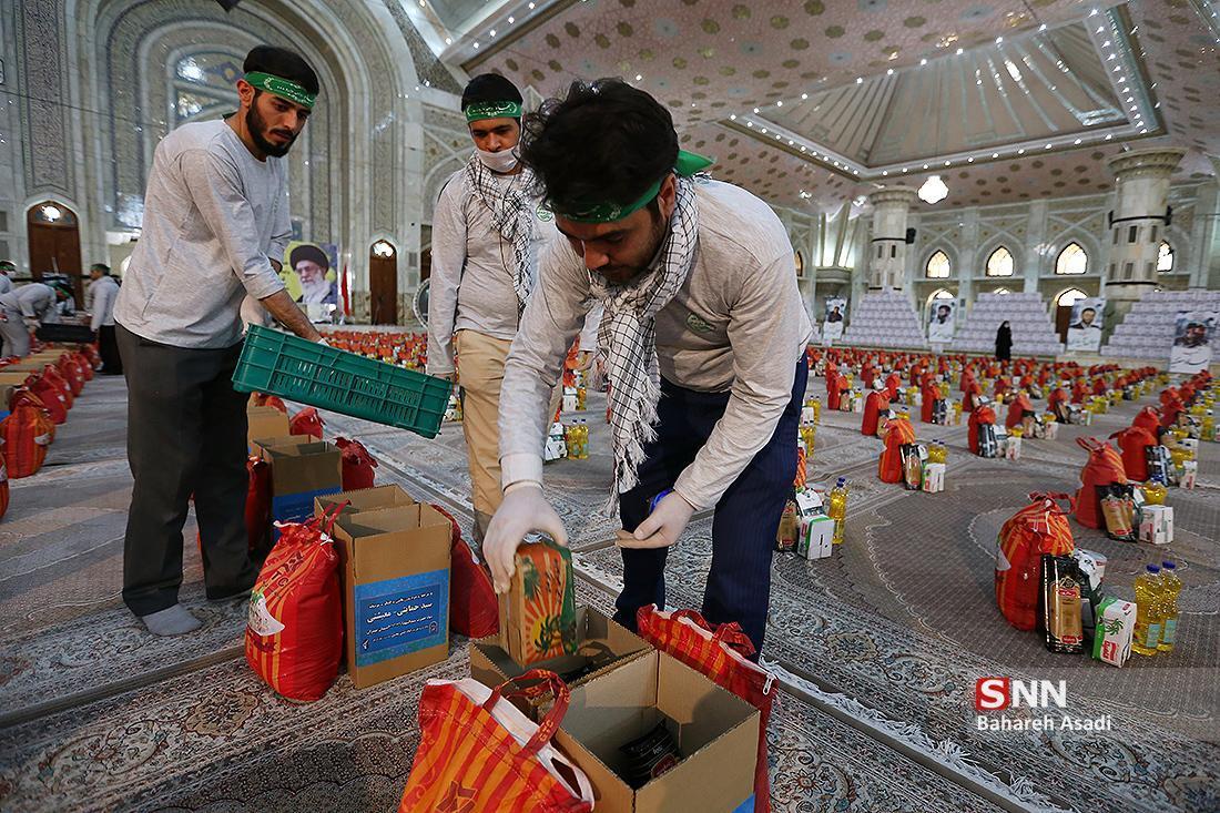 جهادگران گیلانی 20 بسته غذایی بین نیازمندان توزیع کردند