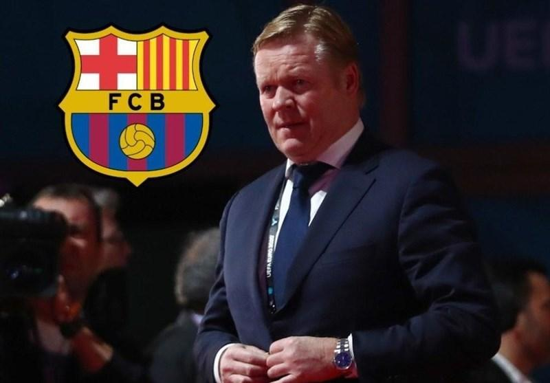کومان رسماً سرمربی بارسلونا شد