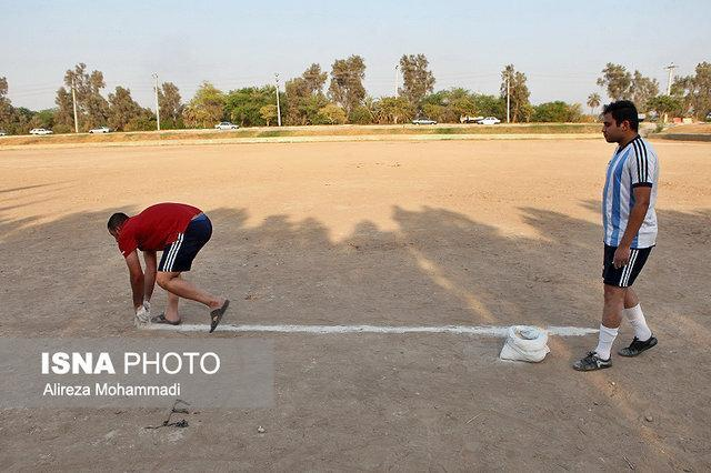 حفظ زمین های فوتبال، اصلی ترین دغدغه ورزش محلات اهواز