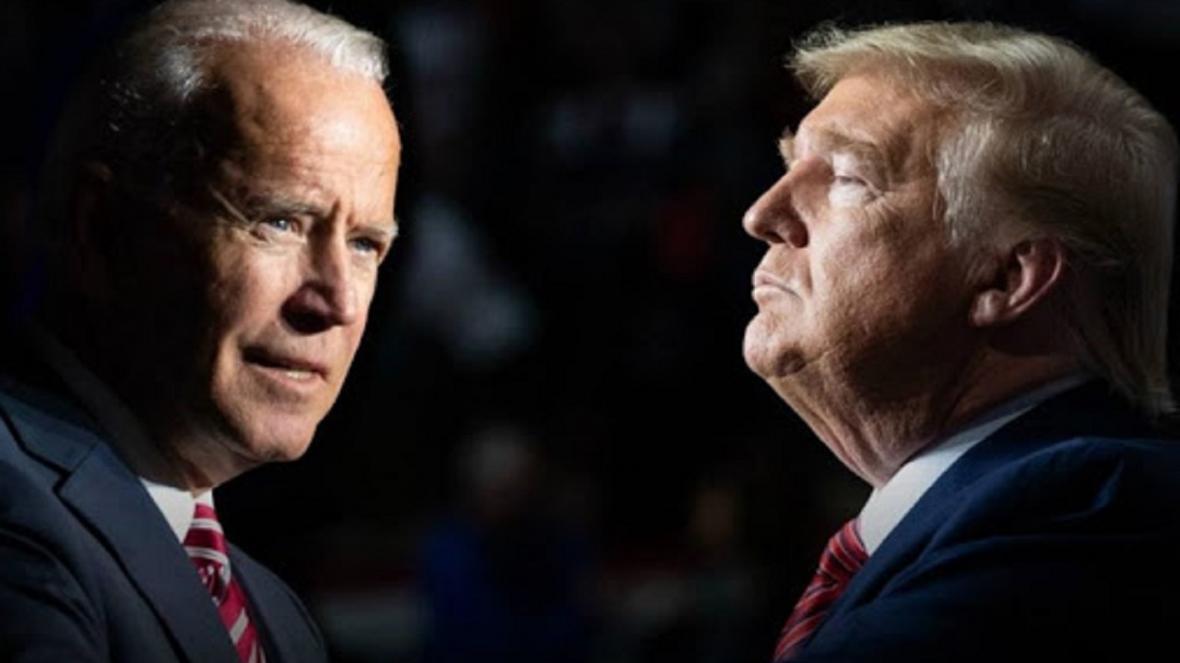پیشتازی بایدن نسبت به ترامپ در نظرسنجی ها