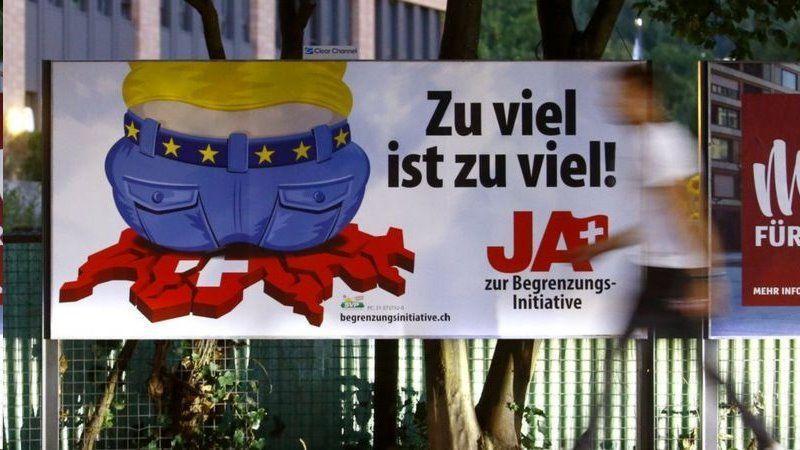 سوئیسی ها درباره خاتمه دادن به رفت و آمد آزادانه به اتحادیه اروپا تصمیم می گیرند