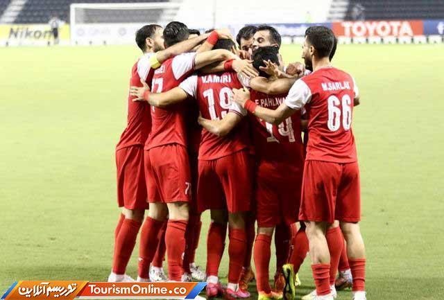 زمان بازی پرسپولیس در نیمه نهایی مقابل النصر