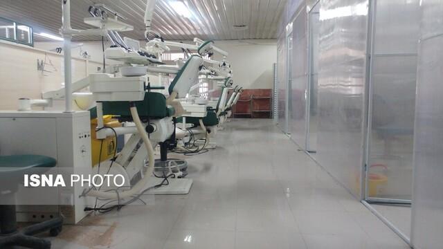 طراحی اتاقک های تهویه هوا در یونیت های دانشکده دندانپزشکی کرمان