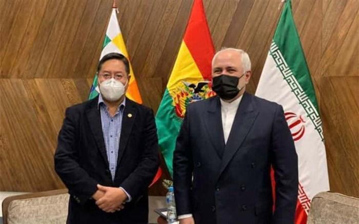 در دیدار ظریف با رئیس جمهوری بولیوی چه گذشت؟