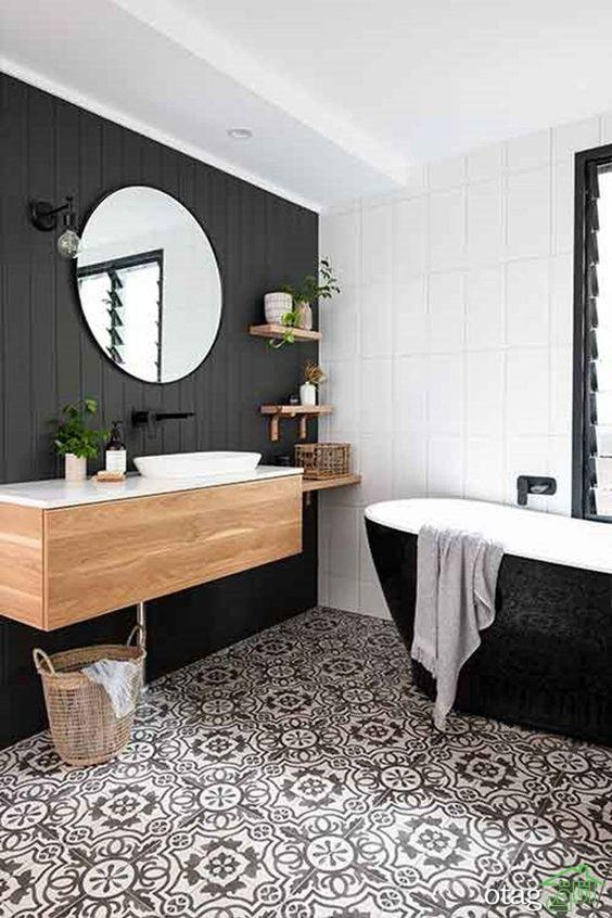اصول زیباسازی دکور سرویس حمام و دستشویی با توجه به جزئیات