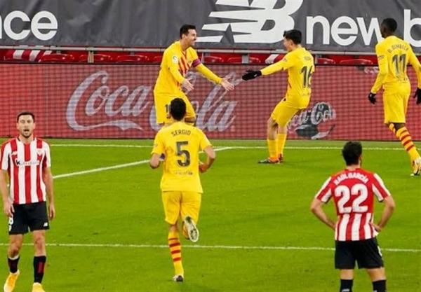 لالیگا، بارسلونا با پیروزی در بازی معوقه به رئال مادرید نزدیک شد