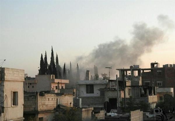 سوریه، انفجار بمب در شهرک الفوعه