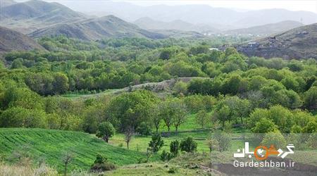 آشنایی با دره زیبا و سرسبز قاهان در قم