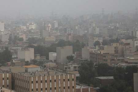 آلودگی هوا در شهرهای صنعتی و پرجمعیت ، ورود سامانه بارشی به کشور از اواخر هفته آینده