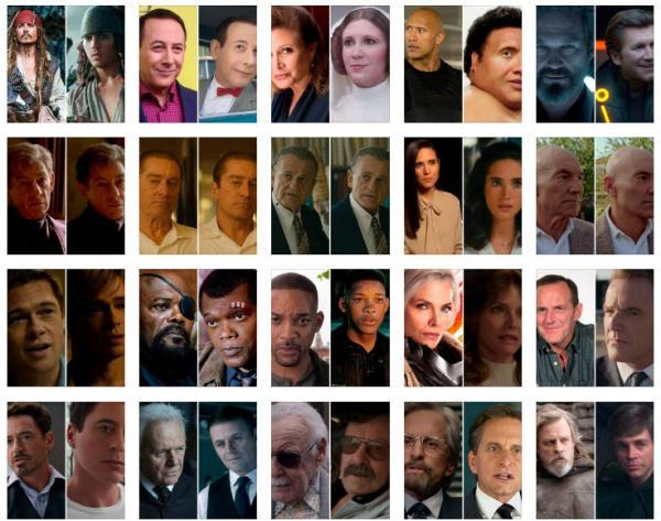 21 هنرپیشه که به صورت دیجیتال در فیلم ها جوان شدند