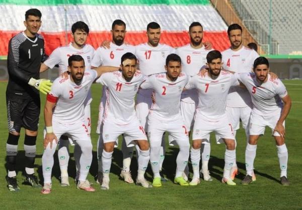 سقوط تیم ملی فوتبال ایران