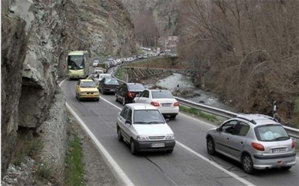 کاهش 2.1 درصدی تردد وسایل نقلیه در محورهای برون شهری