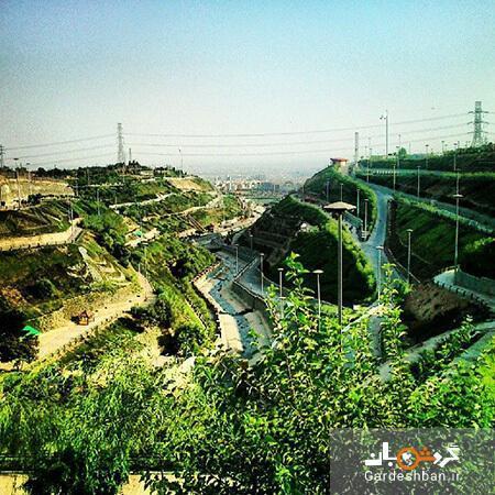 پارک پردیسان؛ یکی از بوستان های تفریحی و زیبای تهران، عکس