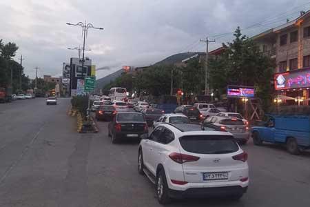 3 آزادراه پرتردد کشور در شبانه روز گذشته ، ثبت کمترین تردد جاده ای بین ساعات 4 تا 5 صبح