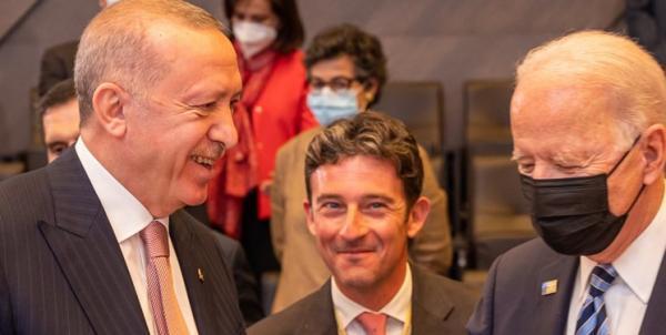 اردوغان: در ملاقات با بایدن بر مواضع ترکیه درباره اف-35 و اس-400 تاکید کردم