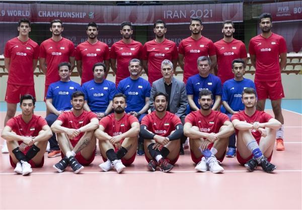 والیبال قهرمانی آسیا، اعلام اسامی 14 بازیکن تیم ملی ایران