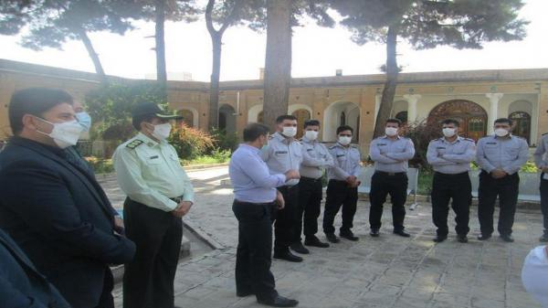بازدید میدانی سازمان آتش نشانی از موزه مردم شناسی ایلام
